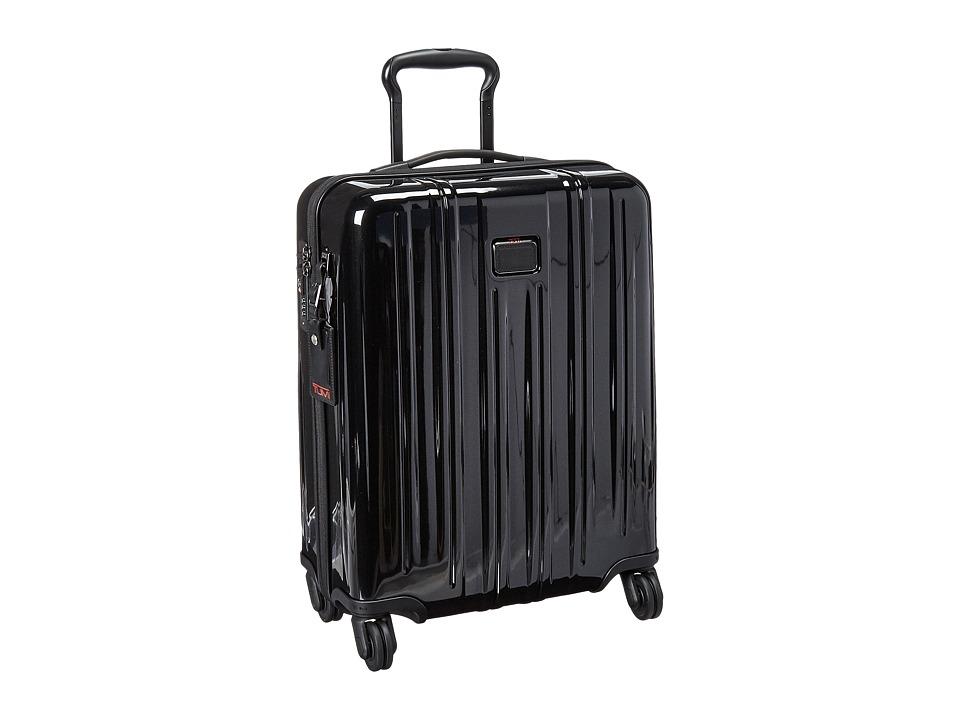 Tumi - V3 International Slim Carry-On (Black) Carry on Luggage