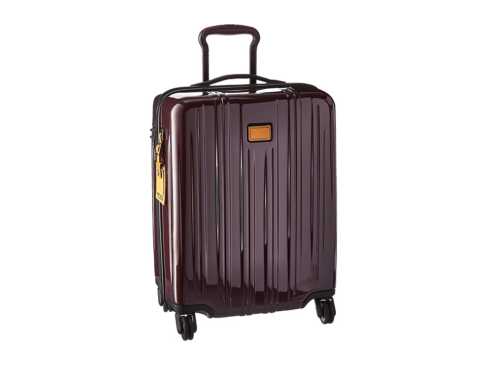 Tumi - V3 Continental Carry-On (Merlot) Carry on Luggage