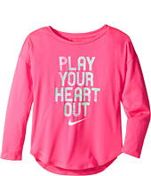 Nike Kids - Play Your Heart Out Long Sleeve Tee (Little Kids)