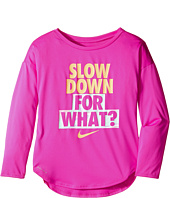 Nike Kids - Slow Down For What Dri-FIT Tee (Little Kids)