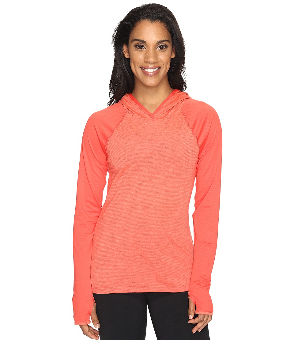 The North Face Reactor Hoodie (Cayenne Red (Prior Season)) Women