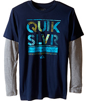 Quiksilver Kids - Scribble Screen Print (Big Kids)