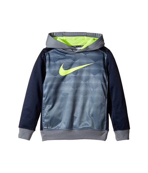 Nike Kids Heather Therma Pullover Hoodie (Toddler)