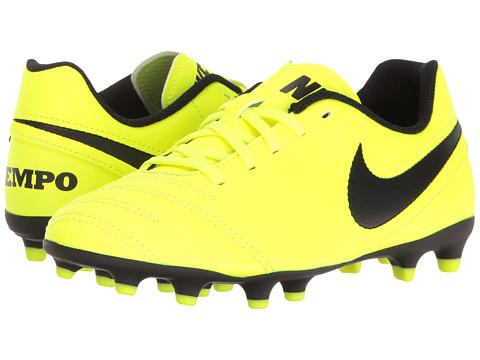 Nike Kids Jr Tiempo Rio III FG-R Soccer (Little Kid/Big Kid)