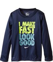 Nike Kids - I Make Fast Look Good Tee (Little Kids)