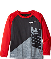 Nike Kids - Splice Heather Dri-Fit Tee (Little Kids)