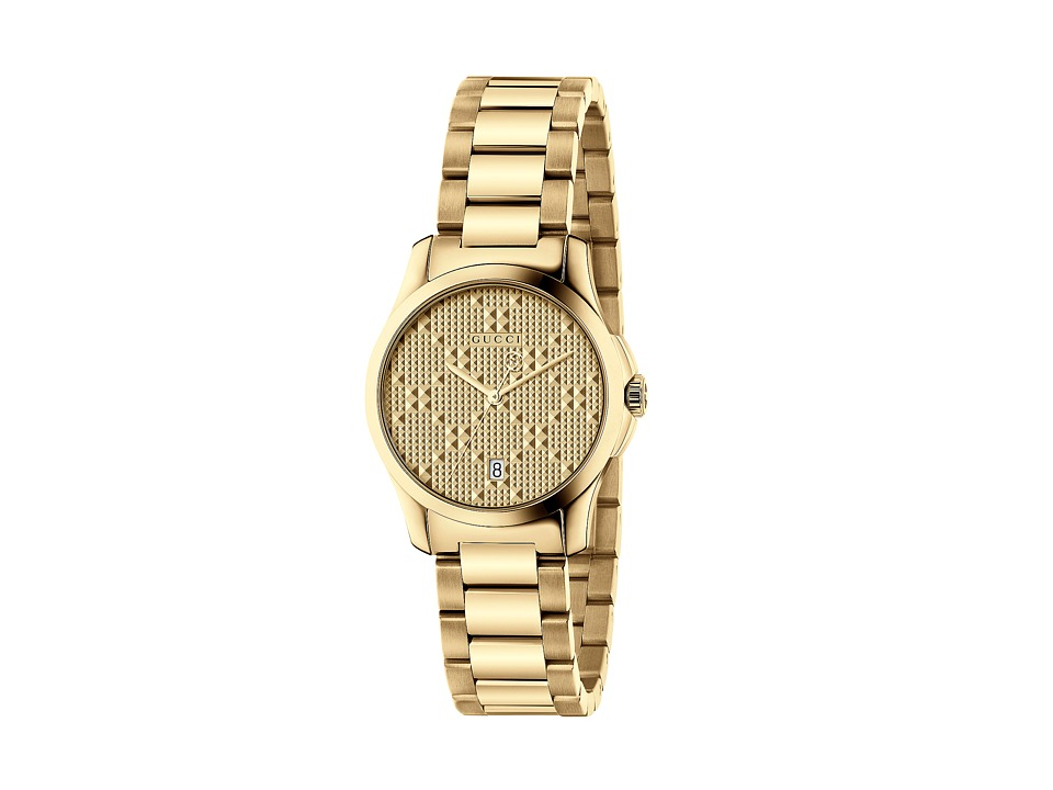Gucci - G-Timeless Small 27mm - YA126553 (Gold) Watches