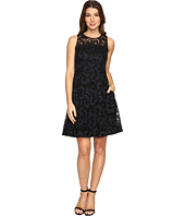 Donna Morgan - Sleeveless Fit and Flare with Full Skirt