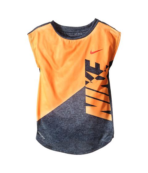 Nike Kids Splice Heather Dri-Fit Tee (Toddler)