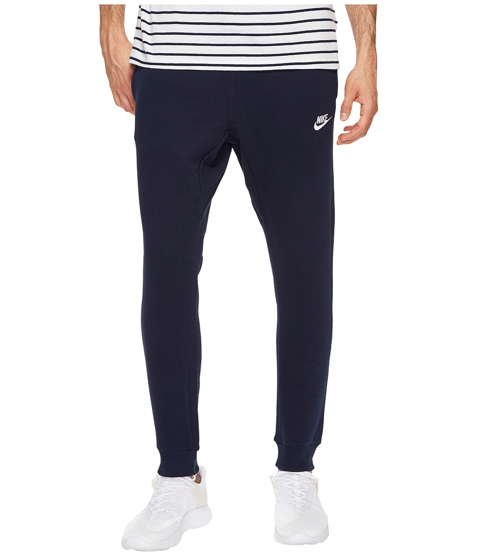 Nike Sportswear Fleece Jogger (Obsidian/White) Men