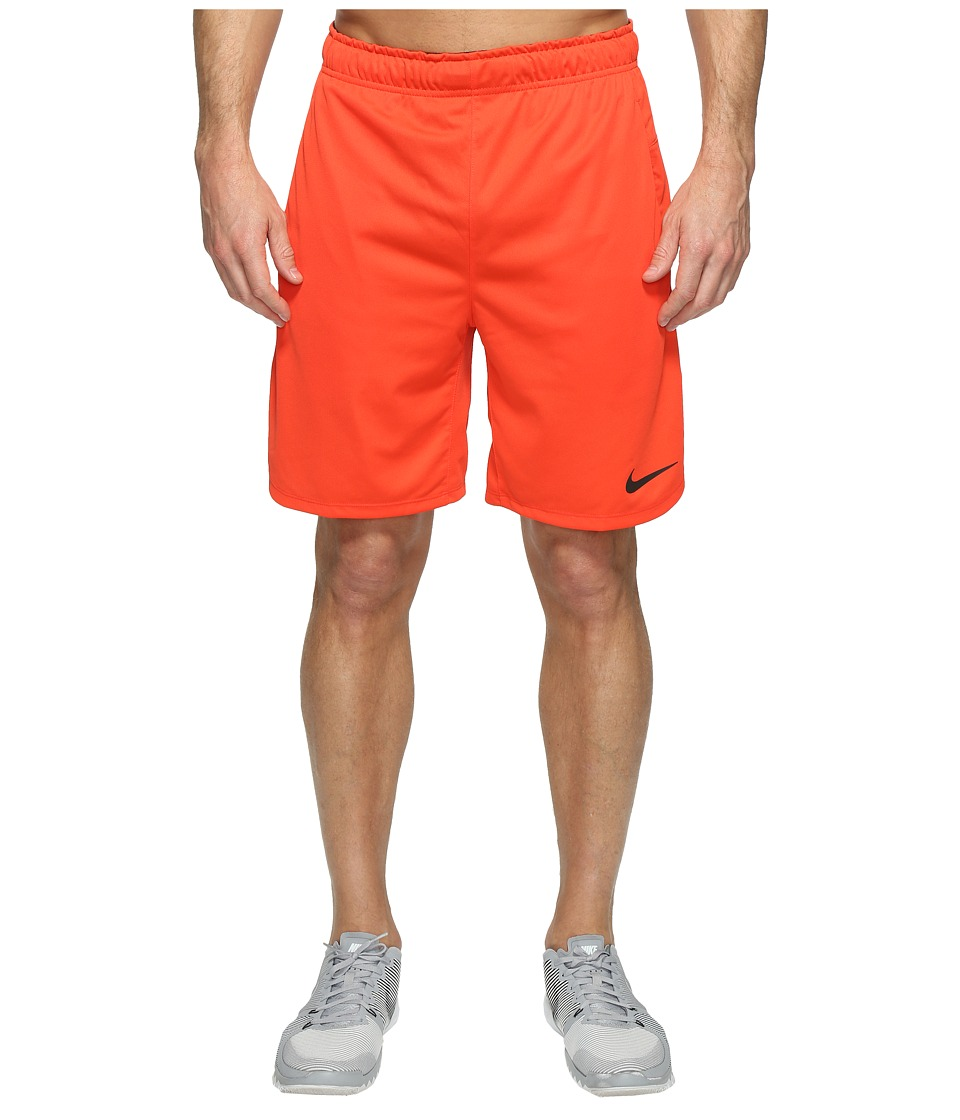 Nike Dry 8 Training Short (Max Orange/Dark Cayenne/Black) Men