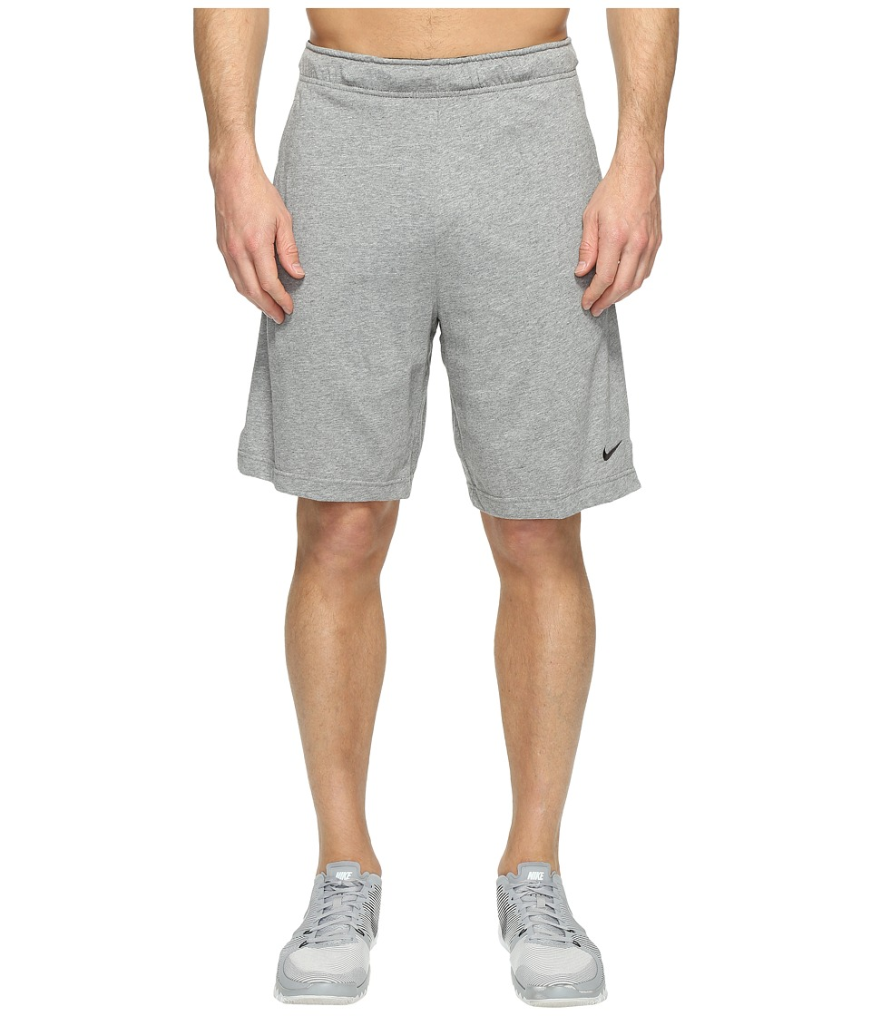 Nike Training Short (Carbon Heather/Black/Black) Men