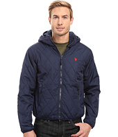 U.S. POLO ASSN. - Diamond Quilted Hooded Jacket