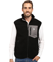 U.S. POLO ASSN. - Full Zip Sherpa Vest