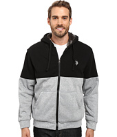 U.S. POLO ASSN. - Color Block Sherpa Hoodie