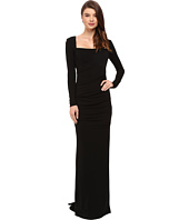 Nicole Miller - Long Sleeve Felicity Gown