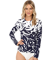 Tommy Bahama - Graphic Jungle Engineered 1/2 Zip Rashguard