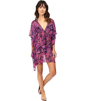 Tommy Bahama - Jacobean Floral Beaded Tunic Cover-Up