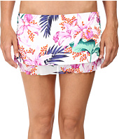 Tommy Bahama - Orchid Canopy Skirted Hipster Bikini Bottom with Ruffle