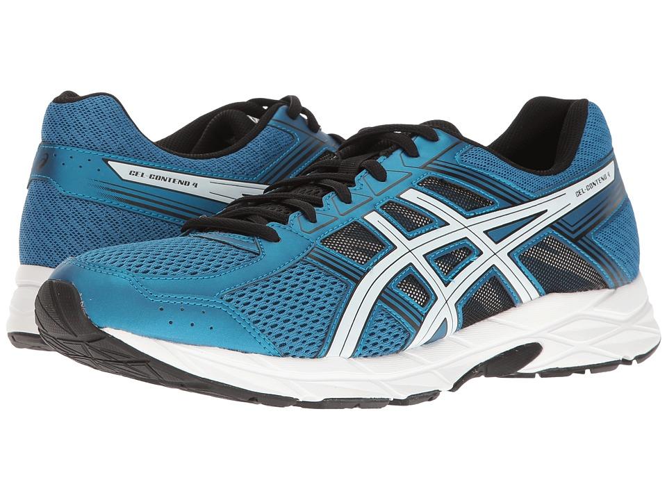 ASICS - GEL-Contend 4 (Thunder Blue/White/Black) Mens Running Shoes
