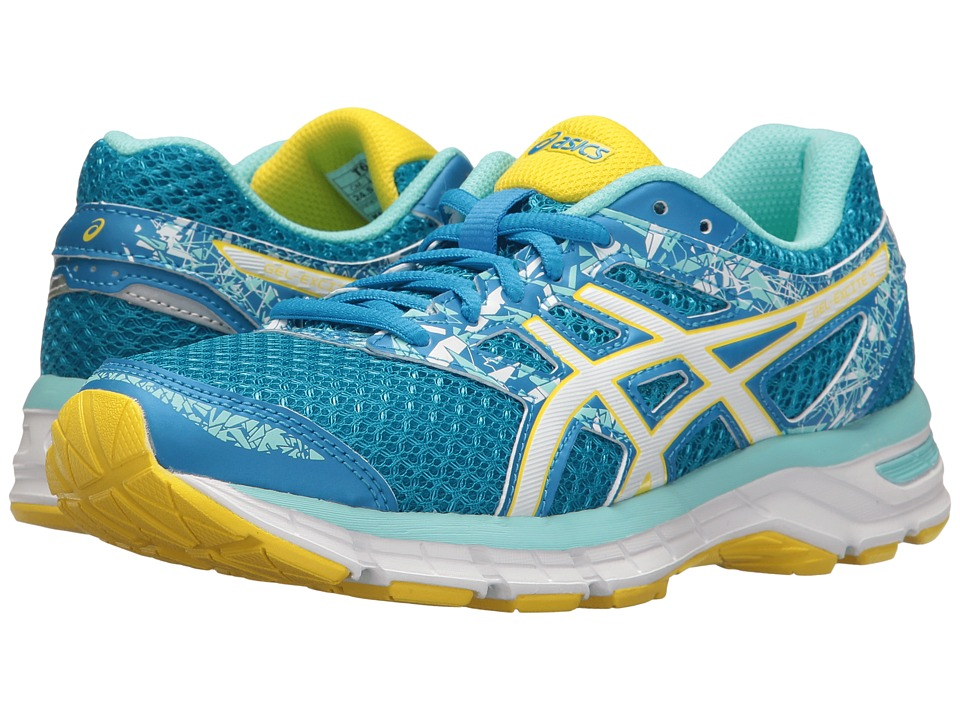 ASICS Gel-Excite 4 (Diva Blue/White/Sun) Women