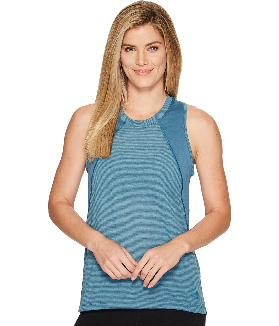 The North Face Reactor Tank Top (Tapestry Blue) Women