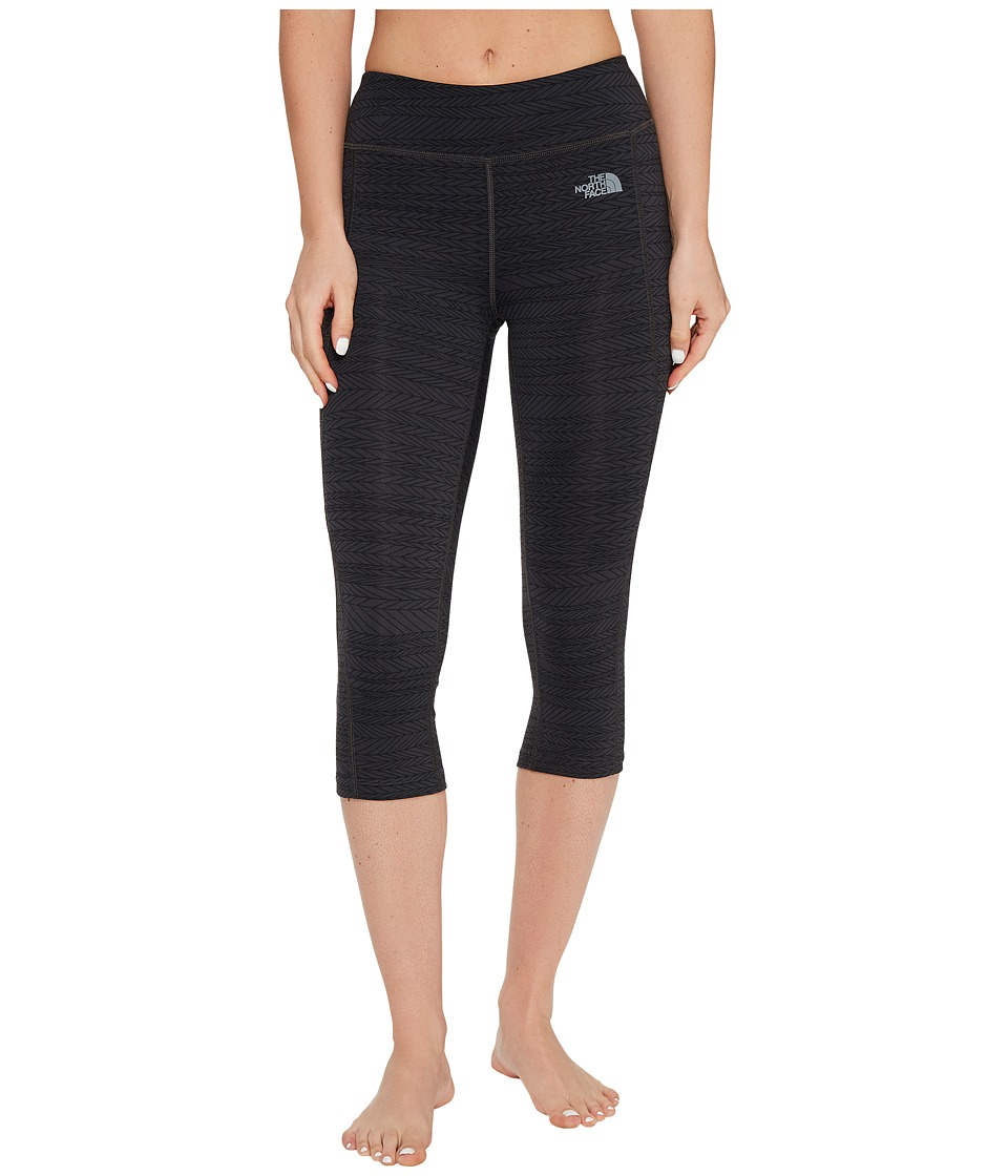 The North Face Pulse Capri Tight (TNF Black Mountain Moose Print (Prior Season)) Women