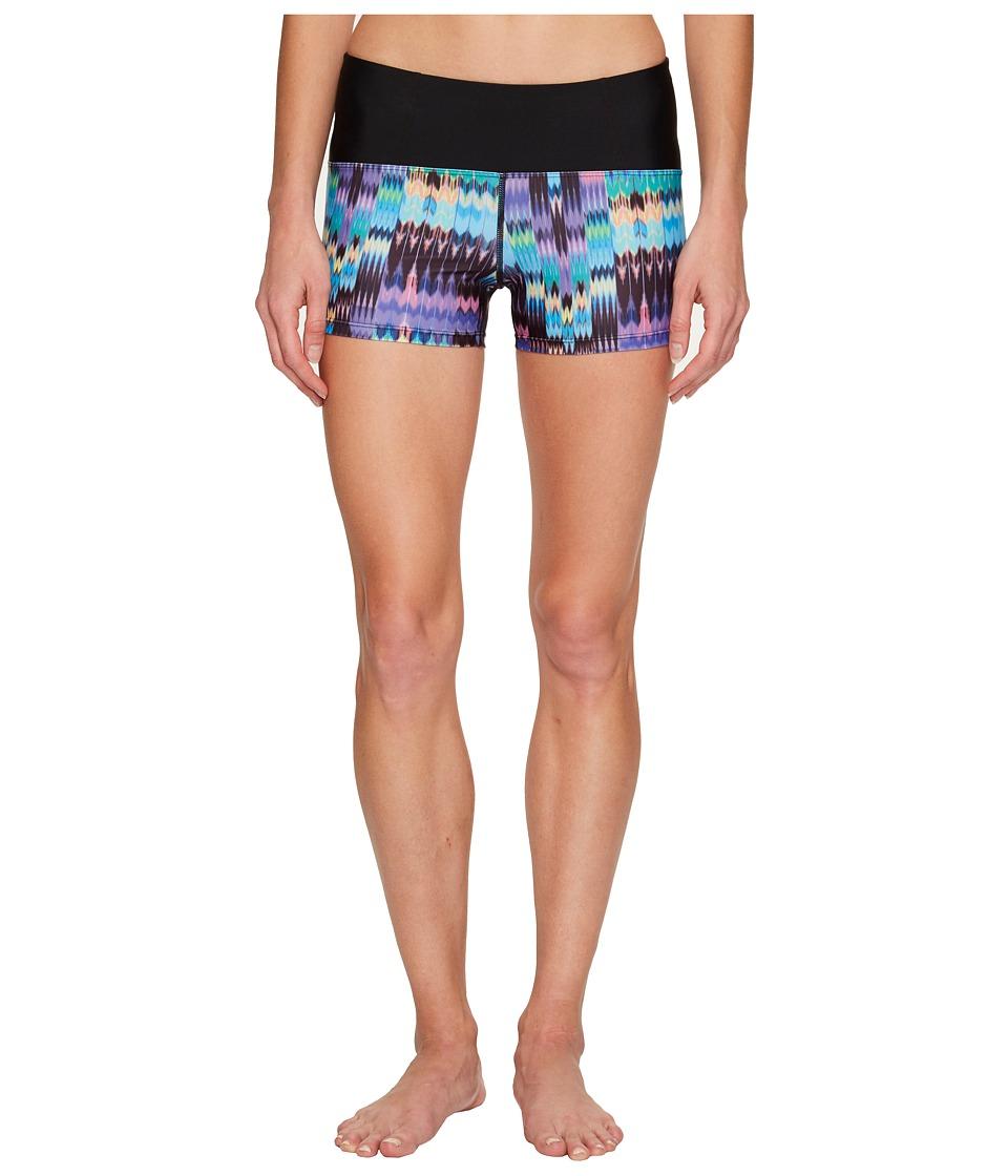 Prana Rai Swim Shorts (Aquamarine Rio)