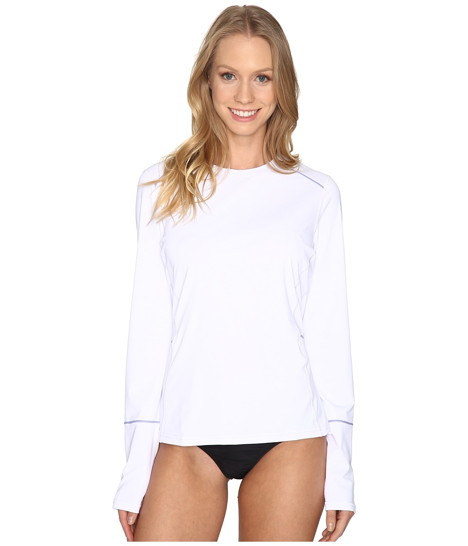Prana Eileen Rash Guard (White)