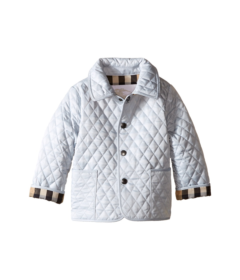 Burberry Kids - Colin Quilted Jacket (Infant/Toddler) (Ic...