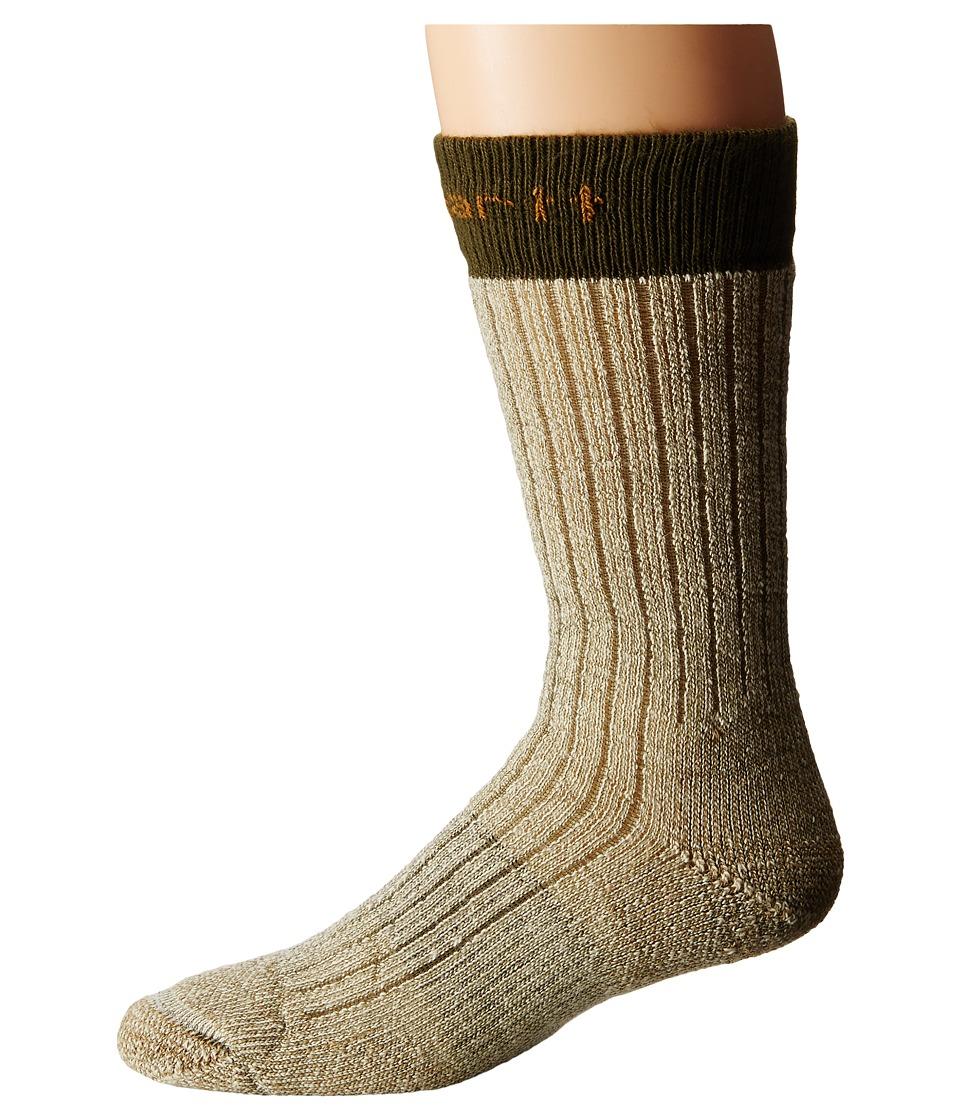 Carhartt Steel Toe Arctic Wool Boot Sock (Moss) Men