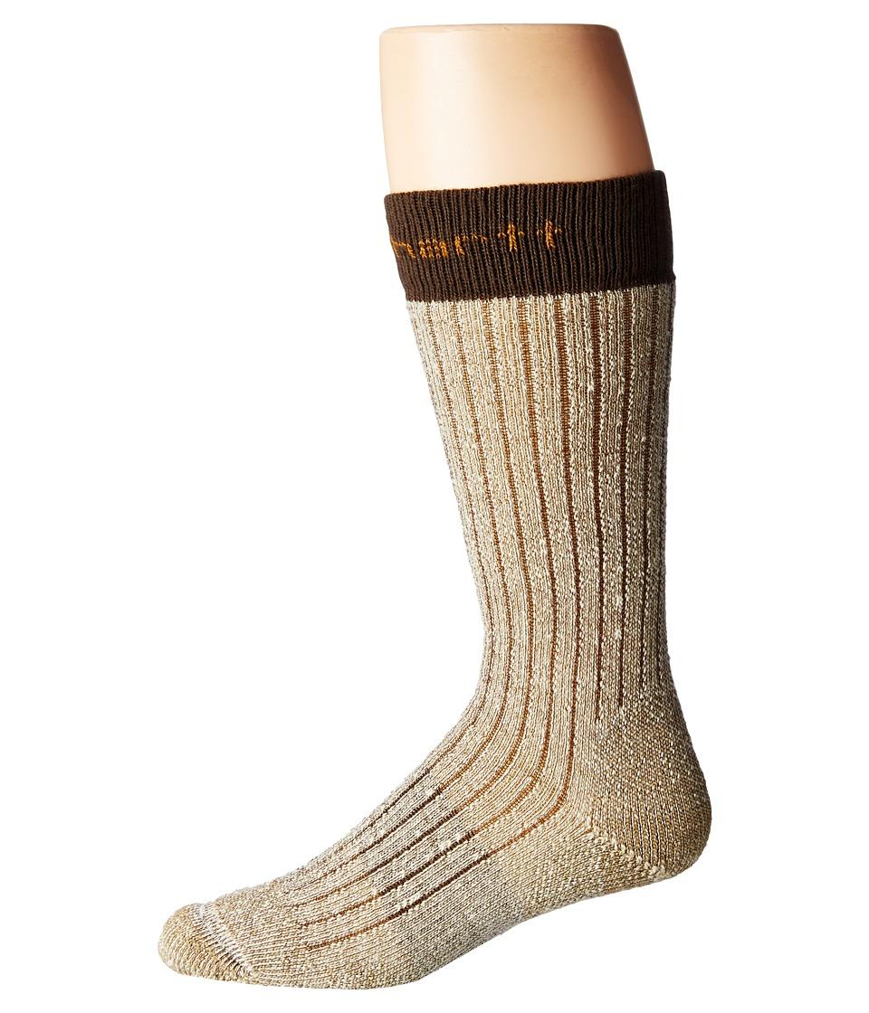 Carhartt Steel Toe Arctic Wool Boot Sock (Brown) Men