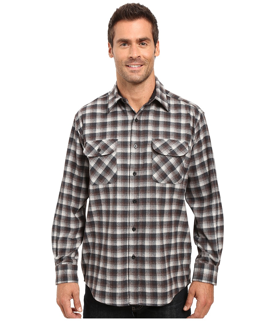 Pendleton Merino Shirt (Grey Plaid) Men