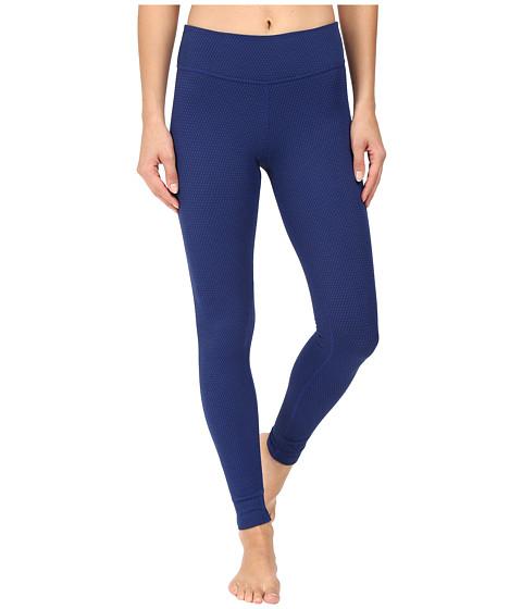 Beyond Yoga Deco Texture Long Leggings - Black/Cobalt