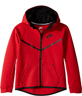 Nike Kids - Tech Fleece Full Zip Hoodie (Little Kids)