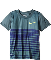 Nike Kids - Heather Stripe Dri-Fit Tee (Toddler)