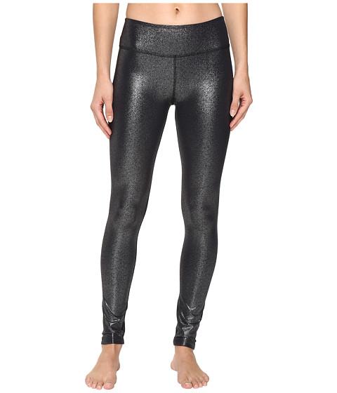 Beyond Yoga Essential Long Leggings - Black/Silver Foil