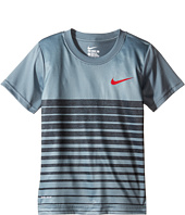 Nike Kids - Heather Stripe Dri-Fit Tee (Little Kids)