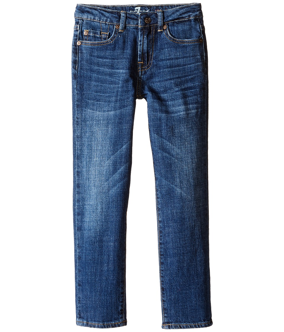 7 For All Mankind Kids - Standard Vintage Straight Leg Denim Jeans in White