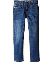 7 For All Mankind Kids - Standard Vintage Straight Leg Denim Jeans in White (Little Kids/Big Kids)