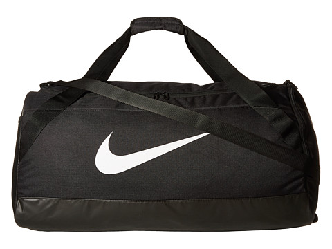 Nike Brasilia Large Duffel Bag - Black/Black/White