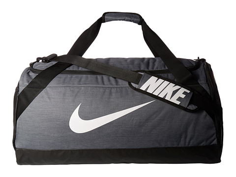 Nike Brasilia Large Duffel Bag - Flint Grey/Black/White