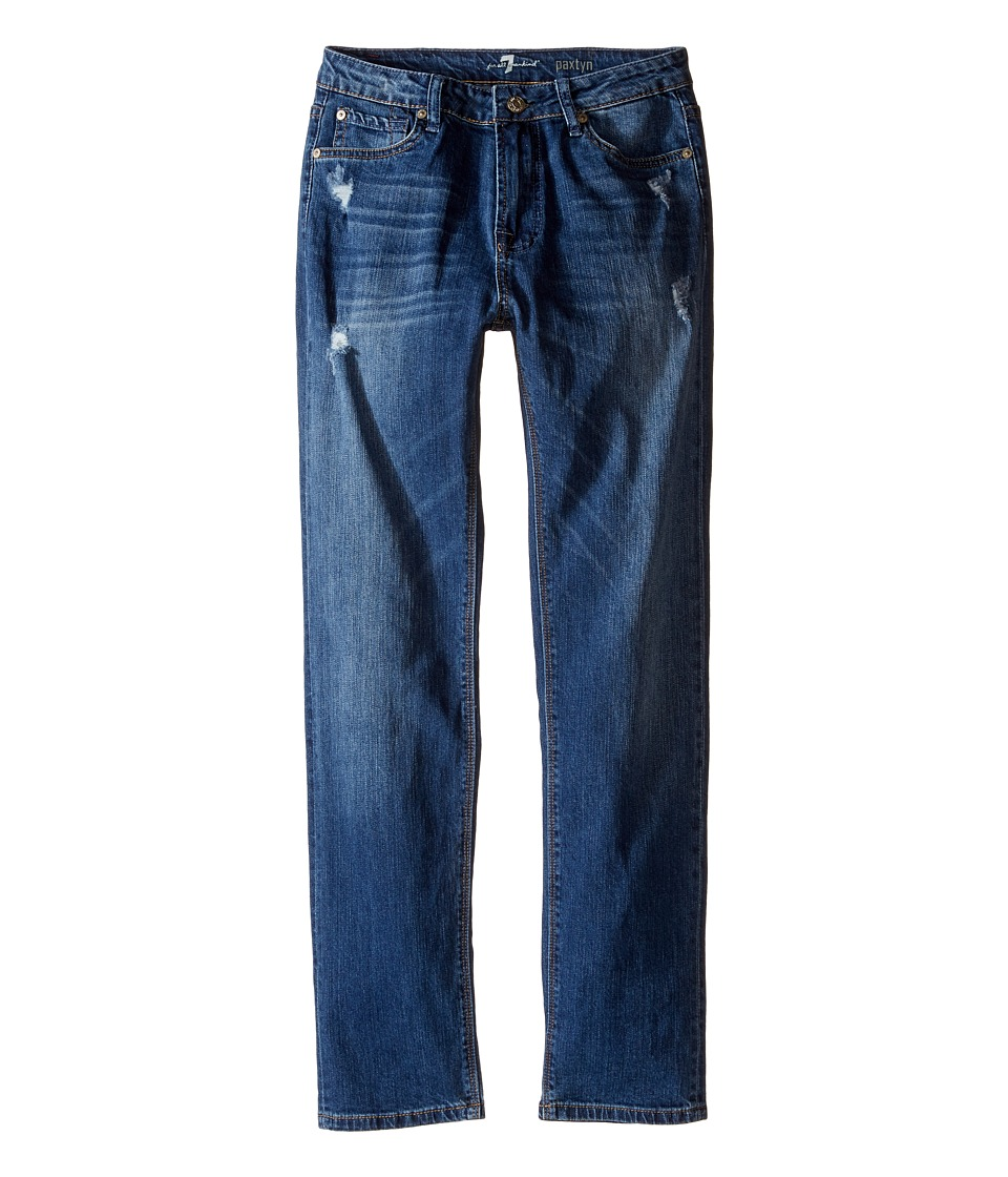 Image of 7 For All Mankind Kids - Paxtyn Denim Jeans in Snorkel Blue (Big Kids) (Snorkel Blue) Boy's Jeans