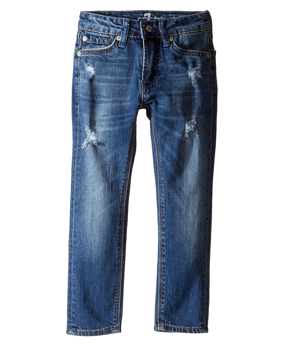 Image of 7 For All Mankind Kids - Paxtyn Denim Jeans in Snorkel Blue (Little Kids/Big Kids) (Snorkel Blue) Boy's Jeans