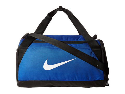 Nike Brasilia Small Duffel Bag - Game Royal/Black/White