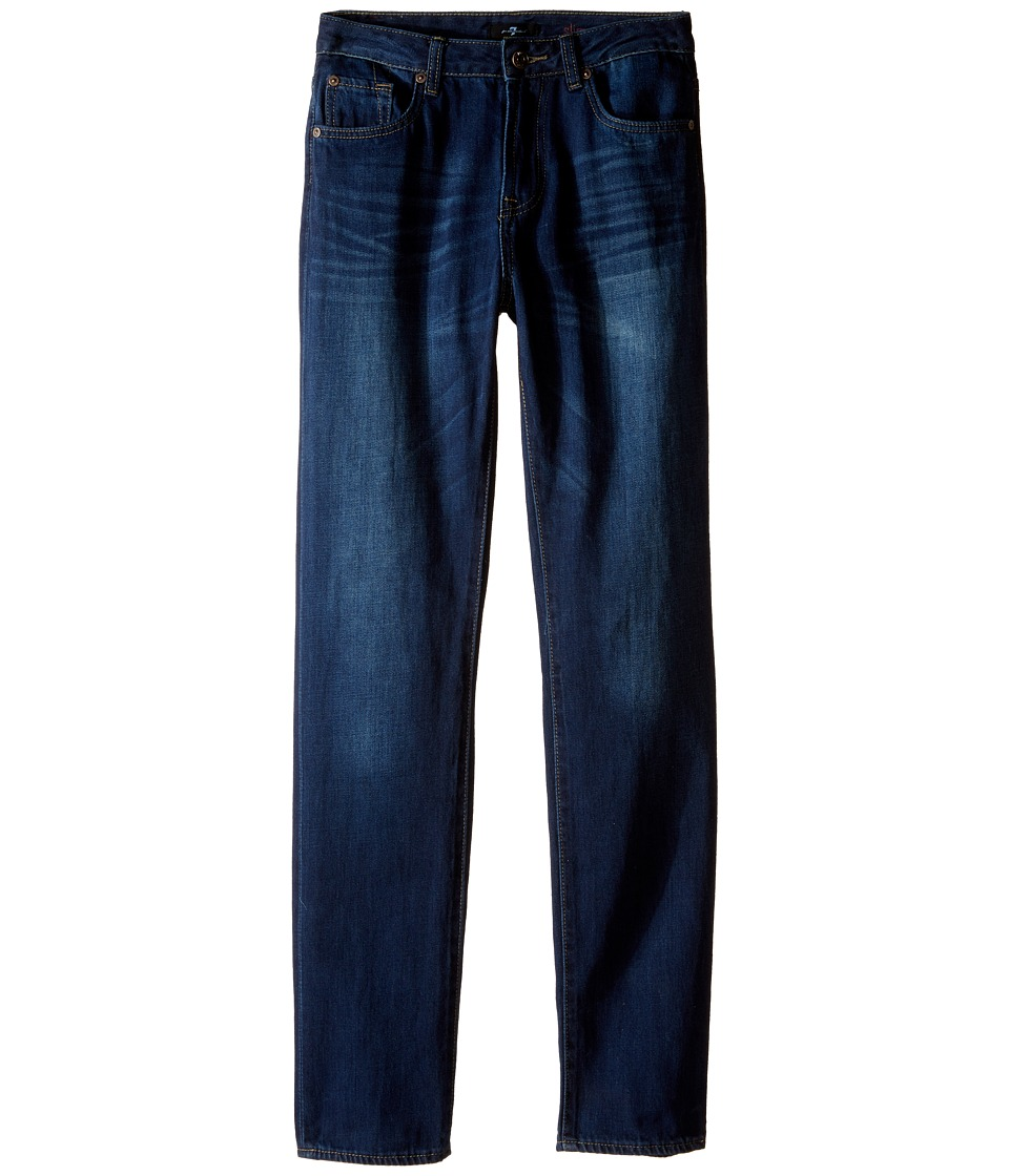 7 For All Mankind Kids - Slimmy Slim Straight Foolproof Jeans in Commotion