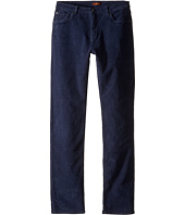 7 For All Mankind Kids - Slimmy Slim Straight Stretch Corduroy Jeans in Navy (Big Kids)