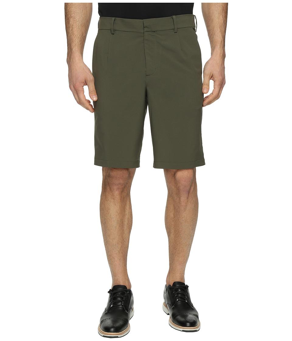 Nike Golf TW Adaptive Fit Woven Shorts (Cargo Khaki/Black) Men