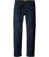 7 For All Mankind Kids - Slimmy Slim Straight Knit Denim Jeans in Park Avenue (Big Kids)