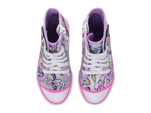Stride Rite My Little Pony United Friends (Toddler/Little Kid) - Silver/Purple